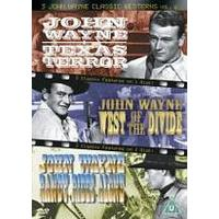 3 John Wayne Classics - Vol. 6 - Texas Terror / West Of The Divide / Randy Rides Alone
