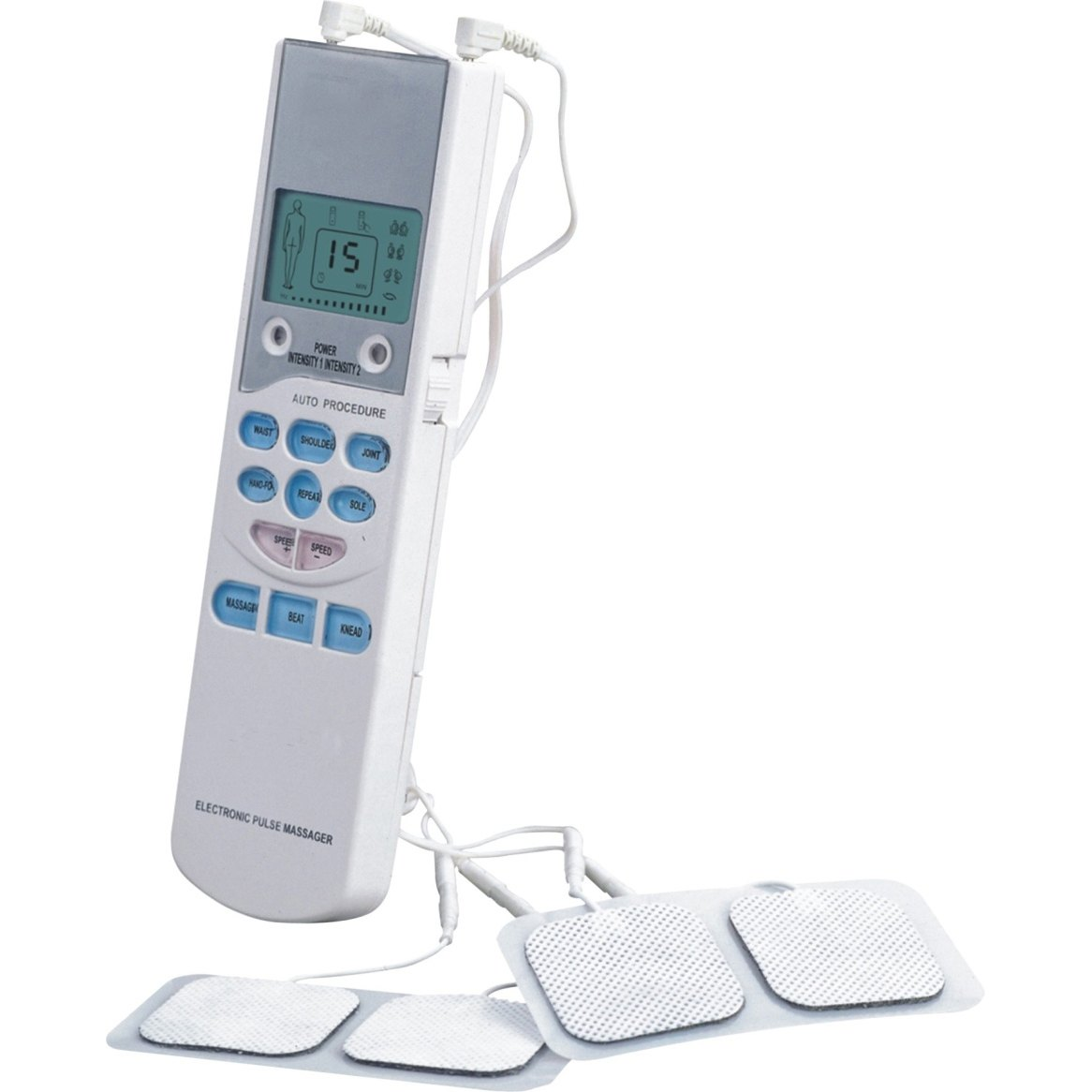 Prospera Electronic Pulse Massager with Attachment Pads - PL009