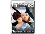 An Education (DVD/WS 2.35 A/DD 5.1/FR-SUB) Carey Mulligan; Peter Sarsgaard; Dominic Cooper; Emma Thompson; Rosamund Pike; Alfred Molina; Olivia Williams; Sally Hawkins; Cara Seymour; Matthew Beard Synopsis: When Jenny, a bright young school girl who longs for adulthood, meets David (Peter Sarsgaard), a dashing older man, he introduces her to his vibrant world of glamorous friends, chic jazz clubs and her own sexual awakening