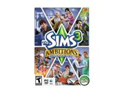 Sims 3: Ambitions Expansion Pack PC Game Brand: EA ESRB Rating: T - Teen Genre: Simulation