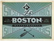 Trademark Fine Art Anderson Design Group 'Boston' Canvas Art