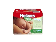 Huggies Natural Care Baby Wipes - 320 Count