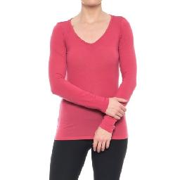 Discontinued . The worldand#39;s most multi-tasking fiber, merino wool, makes Icebreakerand#39;s Siren Sweetheart base layer top the master of itch-free, moisture-wicking and body-temperature-regulating performance. Available Colors: EGGPLANT/SILK HEATHER/STRIPE, ICE BLUE, WILD ROSE, OPAL, DEW, KING FISHER. Sizes: XS, S, M, L, XL.