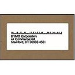 DYMO LabelWriter Address - Black on white - 1.125 in x 3.5 in 520 label(s) (2 roll(s) x 260) address labels - for DYMO Desktop Mailing Solution  Desktop Mailing Solution Twin