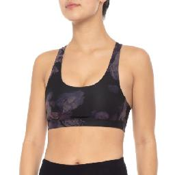 CLOSEOUTS . Itand#39;s easy to stay focused on your training in Mondettaand#39;s Box It Out 1 racerback bra. The smooth knit stretch fabric wicks moisture, dries fast and offers superior breathability to keep you cool, dry and comfortable. Available Colors: TRADITIONAL PLAID/NAVY, FLORAL PRINT. Sizes: XS, S, M, L.