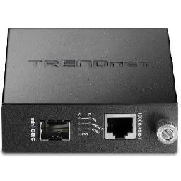 TFC-1000 series Fiber Media Converter transforms 1000Base-T (Copper Gigabit) media to 1000Base-SX/LX (Mini- GBIC) media and vice versa.