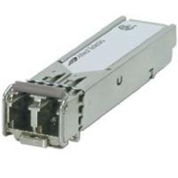 The Allied Telesis AT-SPFXBD-LC-13 is a 3.3V SFP BiDi transceiver module designed for high-speed applications which require up to 155 Mbit/sec transmission rates