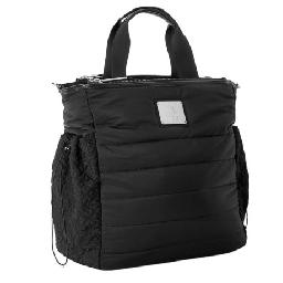 CLOSEOUTS . You could use MPGand#39;s Peak Quilted tote bag for hauling your workout gear to the gym, but itand#39;s also stylish enough to use as an everyday carryall for work, book club or weekend getaways. Available Colors: BLACK.