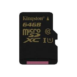 Kingston - Flash memory card - 64 GB - UHS Class 1 / Class10 - microSDXC UHS-I