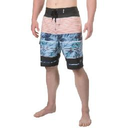 CLOSEOUTS . Resort pool to surfboard to boardwalk, the stretchy, quick-dry action and bold, colorful print of Maui andamp; Sonsand#39; Pipeline boardshorts mean you can enjoy the water and sun in carefree comfort and effortless style. Available Colors: BLUE, BLACK. Sizes: 30, 32, 34, 36, 38, 28.