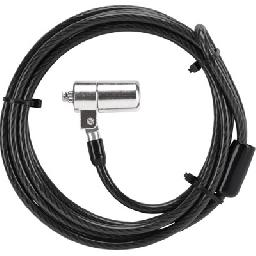 The DEFCON KL Cable Lock is a sturdy locking device featuring a 6 foot steel cable with a pass through loop on one end and lock on the other end.