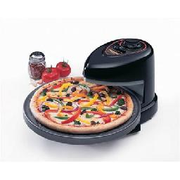 Pizza just the way you like it! Separately controlled top and bottom heating elements let you make toppings as bubbly and crusts as crispy as you like