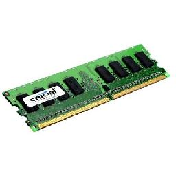1GB PC2-5300 DDR2 667MHz ECC Registered Single Ranked CL5 240-pin DIMM
