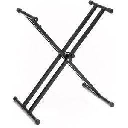 Recommended for the DGX230 series - Adjustable Double X-Style Keyboard Stand. Designed for Larger Keyboard Instruments; Sturdy Steel Construction; Adjustable Height; Folds Flat for Easy Storage; Quick and Easy to Assemble