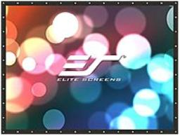 The Elite Screens® DIY Pro Rear series indoor and outdoor projection screen features the high 2.2 gain WraithVeil textured PVC screen material that is ideal for applications with high ambient light intrusion
