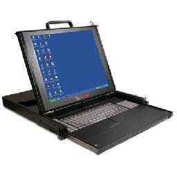 "Avocent ECS19 Single-Rail Rack Console - KVM console - USB - 19"" - rack-mountable - 1280 x 1024 - 1U"