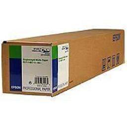 Epson Singleweight Matte - Matte - Roll (17 in x 131 ft) paper - for Stylus Pro 4900 Spectro_M1  Pro 9800  SureColor P5000  SC-P20000  T3200  T5200  T7200