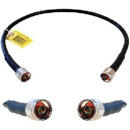 Wilson 400 Ultra Low-Loss Coaxial Cable - Antenna cable - N-Series connector (M) to N-Series connector (M) - 2 ft - coaxial - black